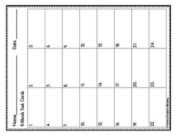 Phonemic Awareness Task Cards: R-blends Set 3