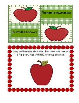 Phonemic Awareness Task Cards - Series 1 - Initial Sound Isolation