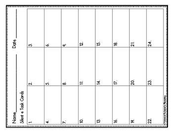 Phonemic Awareness Task Cards: Silent E Set 2