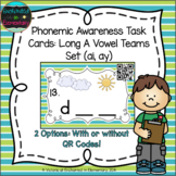 Phonemic Awareness Task Cards: ai and ay Set