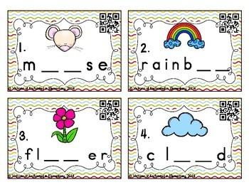 Phonemic Awareness Task Cards: ow and ou Set