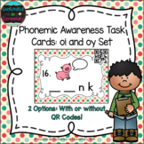Phonemic Awareness Task Cards: oy and oi Set