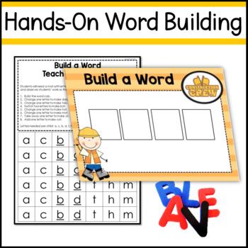 Phonemic Awareness Toolbox - Word Builders (Phoneme Substitution)