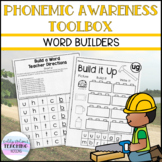 Phonemic Awareness Toolbox - Word Builders (Phoneme Substitution)
