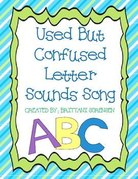 Phonemic Awareness: Used But Confused Letter Sounds Song