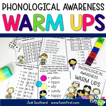 Phonemic Awareness Warm Ups