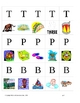 Phonemic Awareness:  Where Does My Letter Go? (English and Spanish)