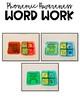 Phonemic Awareness Word Work