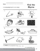 Phonemic Awareness: Words That Rhyme/Kite & Time
