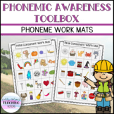 Phonemic Awareness Toolbox - Work Mats - Small Group Activ
