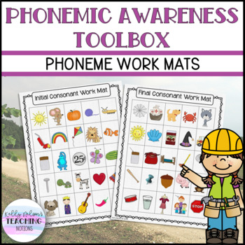 Phonemic Awareness - Work Mats - Small Group Activities and Games