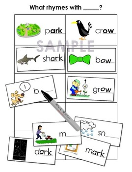 Phonemic Awareness Worksheets - Rhyming Words by Reading Writing ...