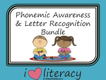 Phonemic Awareness and Letter Recognition Bundle