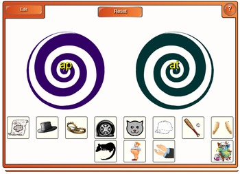 Phonemic Awareness and Phonics Smartboard Center Letter Name Short A