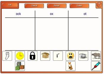 Phonemic Awareness and Phonics Smartboard Center Letter Name Short O