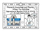 Phonemic Awareness and Phonics         Winter Fun Activities