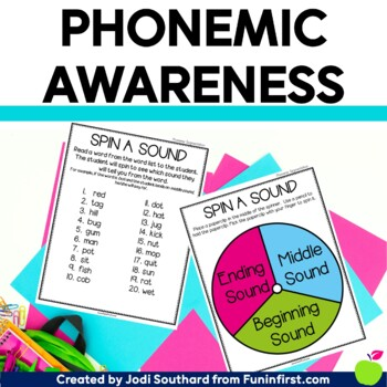 Phonemic Awareness at Your Fingertips