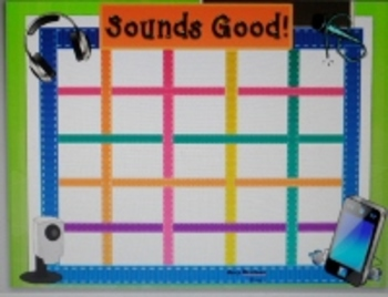 "Phonemic Awareness for Grades 2-5- ""Sounds Good!""-Game and Word Sort Mats"