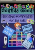"Phonemic Awareness for Grades 2-5- ""Sounds Good!""-Game and"