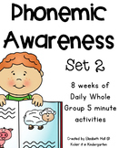 Phonemic Awareness for Little Learners (Set 2)