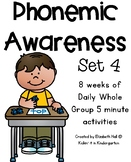 Phonemic Awareness for Little Learners (Set 4)