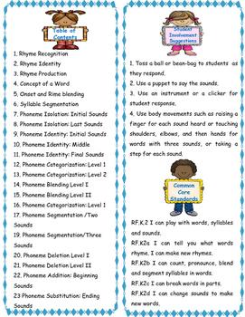 Phonemic Awareness on the Run with Kinder Kids