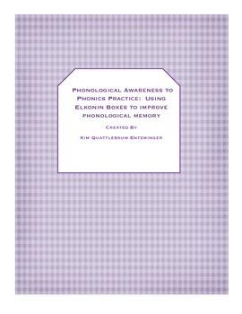 Phonemic Awareness to Phonics