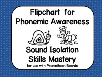 Phonemic Awareness:Kindergarten Sound Isolation Flipchart