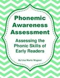 Phonemic Awarness Assessment