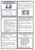 Phonemic awareness Early literacy Pocket Program No. 2 Gdes 1-3