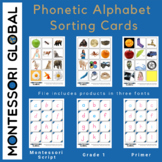 Phonetic Alphabet Sorting Cards