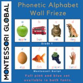 Phonetic Alphabet Wall Frieze