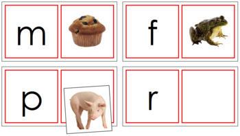 Phonetic Matching Cards - Set 1