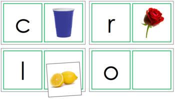 Phonetic Matching Cards - Set 3