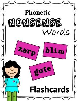 Phonetic Nonsense Words