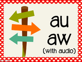 Phonetic Pattern: au, aw words (with audio)