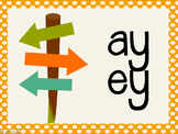 Phonetic Pattern: ay, ey words