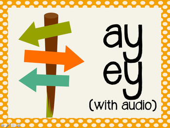 Phonetic Pattern: ay, ey words (with audio)