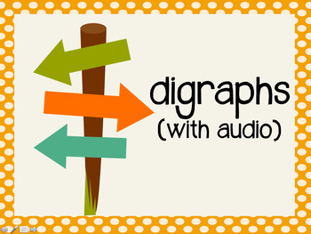 Phonetic Pattern: digraph words (with audio)