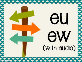 Phonetic Pattern: eu, ew words (with audio)
