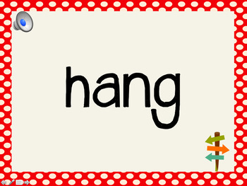 Phonetic Pattern: ing, ang, ong words (with audio)