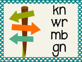 Phonetic Pattern: kn, wr, mb, gn