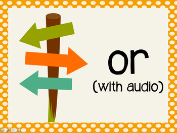 Phonetic Pattern: or words (with audio)