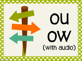 Phonetic Pattern: ou, ow words (with audio)