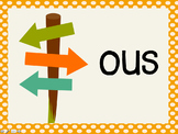 Phonetic Pattern: ous words