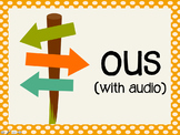 Phonetic Pattern: ous words (with audio)