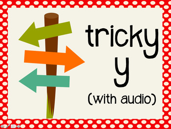 Phonetic Pattern: tricky y words (with audio)