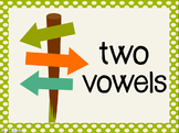 Phonetic Pattern: two vowel words