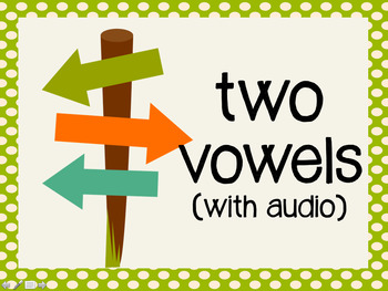 Phonetic Pattern: two vowel words (with audio)