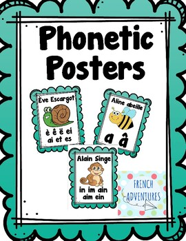 Phonetic Posters (Les sons)
